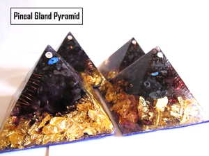 THE CREATIVITY PINEAL GLAND STIMULATION ORGONE PYRAMID
