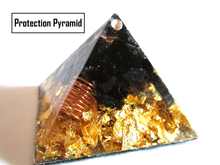 Load image into Gallery viewer, SUPREME PROTECTOR MINI ORGONE, ORGONITE PYRAMID