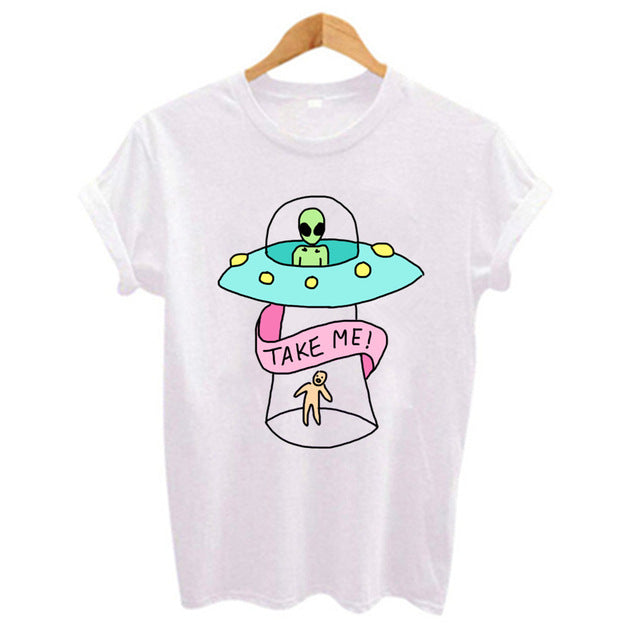 Take Me! Harajuku Short Sleeve T-Shirt