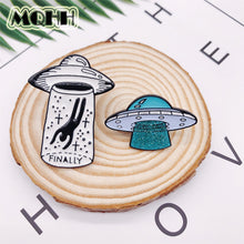 Load image into Gallery viewer, Take Me Home UFO & Alien Pin