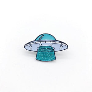 Take Me Home UFO & Alien Pin