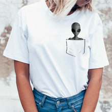 Load image into Gallery viewer, Alien in My Pocket T-Shirt