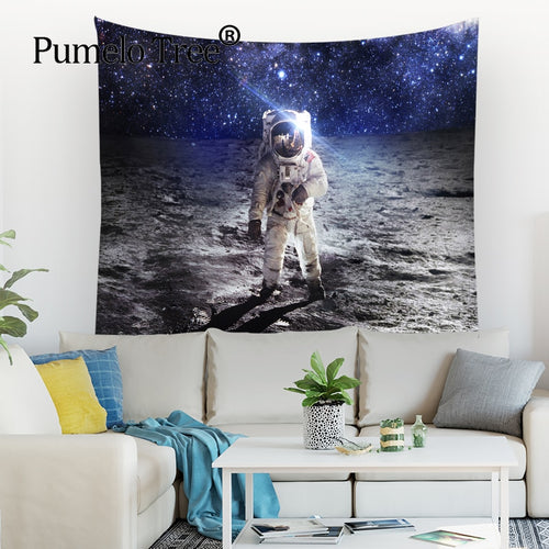 NASA Astronaut Apartment Wall Tapestry