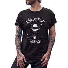 Load image into Gallery viewer, Ready For Aliens Hipster T-Shirt