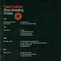 DAVID HOLMES - Stop Arresting Artists