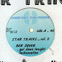 FIERCE RULING DIVA PRESENTS BEN DOVER - Star tracks Vol. 2 - Get Down Tonight