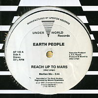 EARTH PEOPLE - Reach Up To Mars