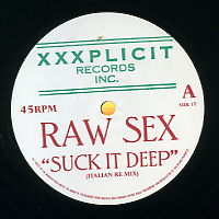 RAW SEX - Suck It Deep