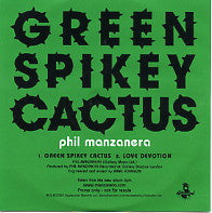 PHIL MANZANERA - Green Spikey Cactus / Love Devotion