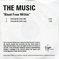 THE MUSIC - Bleed From Within