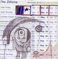 THE ZILLIONS - Raincoat Girlz / Saturday's Child