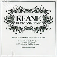KEANE - Selections From Hopes And Fears