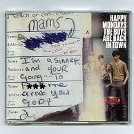 HAPPY MONDAYS - The Boys Are Back In Town