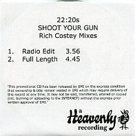 22-20s - Shoot Your Gun
