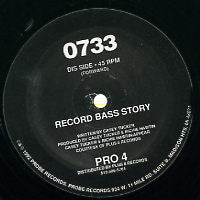 0733 - Record Bass Storey / Loner / Alternative Roots