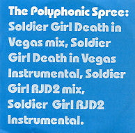 POLYPHONIC SPREE - Soldier Girl