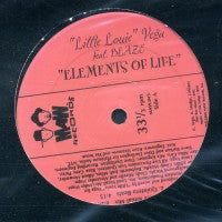 LITTLE LOUIE VEGA FEAT BLAZE - Elements of Life