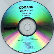 CDOASS - Speak To Me / Chemicals