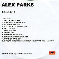 ALEX PARKS - Honesty