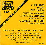 VARIOUS - Shifty Disco Says