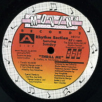 RHYTHM SECTION - Thrill Me
