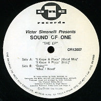 VICTOR SIMONELLI PRES SOUND OF ONE - I Know A Place
