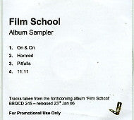 FILM SCHOOL - Album Sampler