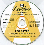 LEO SAYER - Everyone / We Got Away With It