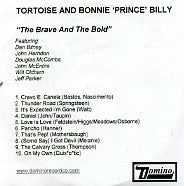 TORTOISE & BONNIE 'PRINCE' BILLY - The Brave And The Bold