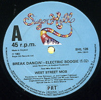 WEST STREET MOB - Break Dancin' - Electric Boogie / Let Your Mind Be Free