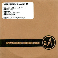 SOFT PRIEST - Done It! EP