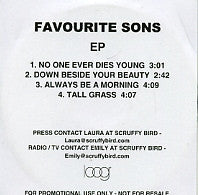 FAVOURITE SONS - EP