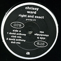 CHRISSY WARD - Right And Exact
