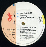 THE SOURCE FEAT. CANDI STATON - You Got The Love