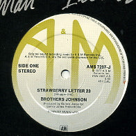 THE BROTHERS JOHNSON - Strawberry Letter 23 / Brother Man / I'll Be Good To You