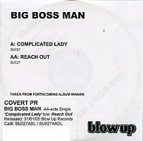 BIG BOSS MAN - Complicated Lady / Reach Out