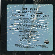 BOB DYLAN - Million Miles - Live Recordings 1997-1999