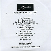 ROOSTER - Circles & Satellites