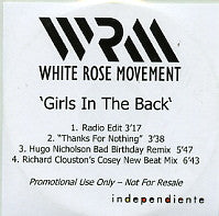 WHITE ROSE MOVEMENT - Girls In The Back