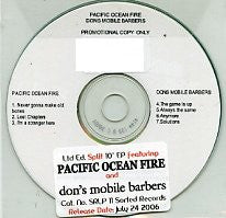 PACIFIC OCEAN FIRE / DON'S MOBILE BARBERS - Split