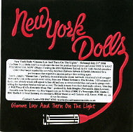 NEW YORK DOLLS - Gimme Luv And Turn on The Light