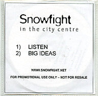 SNOWFIGHT IN THE CITY CENTRE - Listen