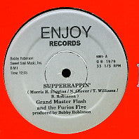 GRAND MASTER FLASH & THE FURIOUS FIVE - Supperrappin