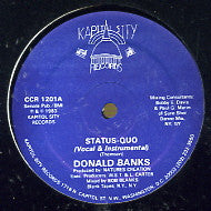 DONALD BANKS - Status Quo / Just One More Chance