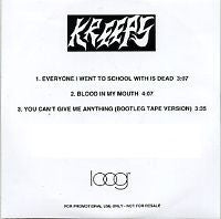 KREEPS - Everyone I Went To School With Is Dead