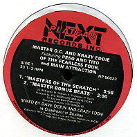 MASTER O.C. AND KRAZY EDDIE  - Masters Of The Scratch