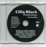 CILLA BLACK - Beginnings - Greatest Hits & New Songs