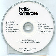 HELL IS FOR HEROES - Hell Is For Heroes