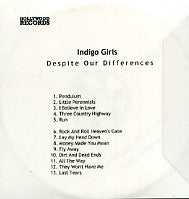 INDIGO GIRLS - Despite Our Differences