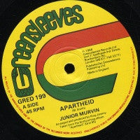 JUNIOR MURVIN - Apartheid / Jack Slick